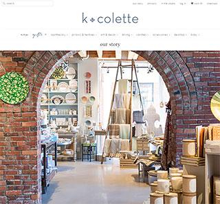 k colette web store